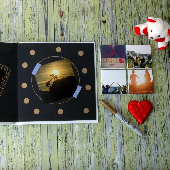 Kutulu Albüm ve Mini Blok Sevgili Seti