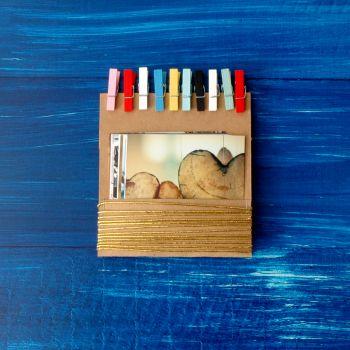 Fotoğraflı Renkli Mandallı Set