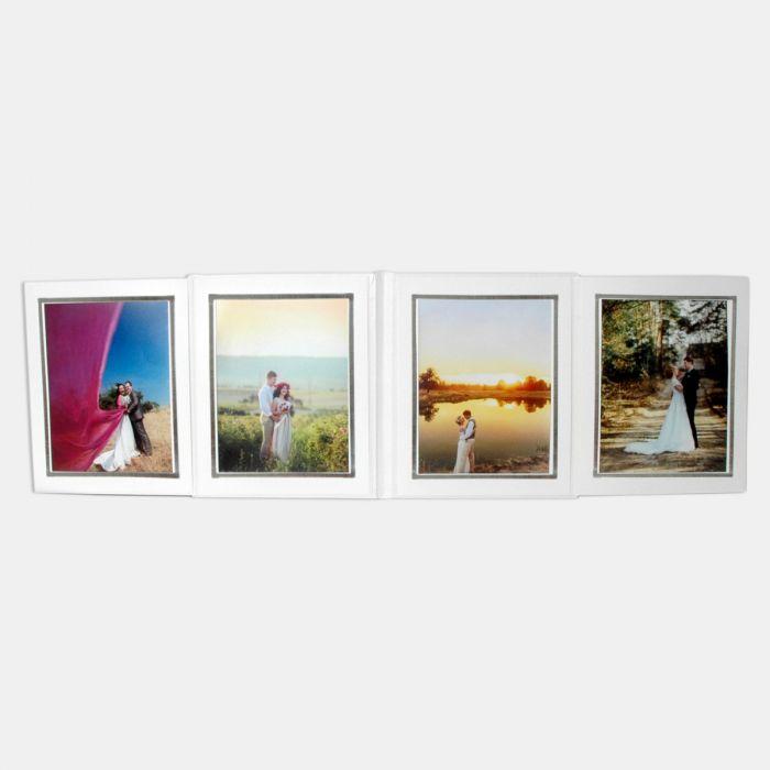 4'lü Fotoğraf Albümü Beyaz