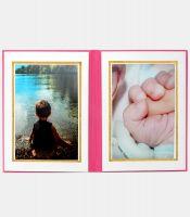 6'lı Fotoğraf Albümü Pembe