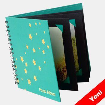10x10 Fotoğraf Albümü Yeşil