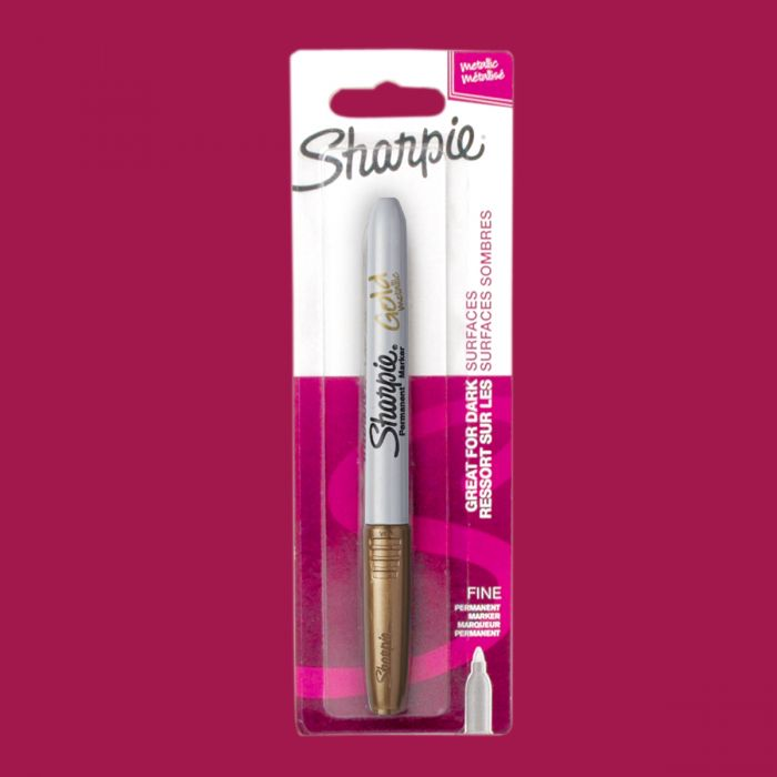 Sharpie  Metalik Markör Permanent Altın